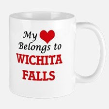 My heart belongs to Wichita Falls Texas Mugs
