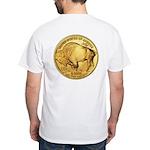 Gold Buffalo White T-Shirt