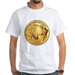 Gold Buffalo White T-Shirt