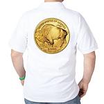 Gold Buffalo Golf Shirt