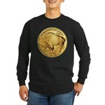 Gold Buffalo Long Sleeve Dark T-Shirt