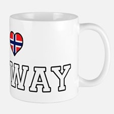 I Love Norway Mugs