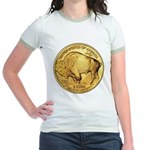Gold Buffalo Jr. Ringer T-Shirt