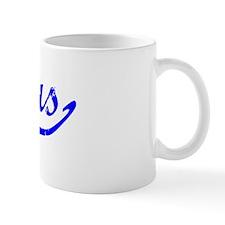Alexus Vintage (Blue) Small Mug