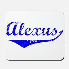 Alexus Vintage (Blue) Mousepad