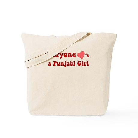Everyone loves a Punjabi Girl. Tote Bag