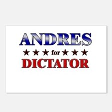 ANDRES for dictator Postcards (Package of 8)
