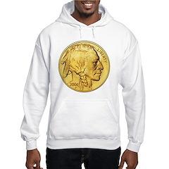 Gold Indian Head Hoodie
