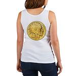 Gold Indian Head Women's Tank Top