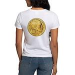Gold Indian Head Women's T-Shirt