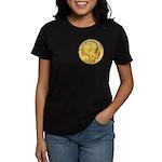 Gold Indian Head Women's Dark T-Shirt