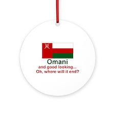 Omani - Good Looking Keepsake Ornament