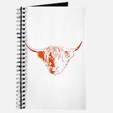 Scottish Ginger Highland Cow Journal