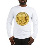 Gold Indian Head Long Sleeve T-Shirt