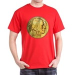 Gold Indian Head Dark T-Shirt