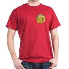 Gold Indian Head T-Shirt