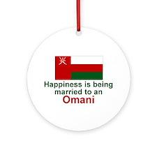 Omani-Happily Married Keepsake Ornament