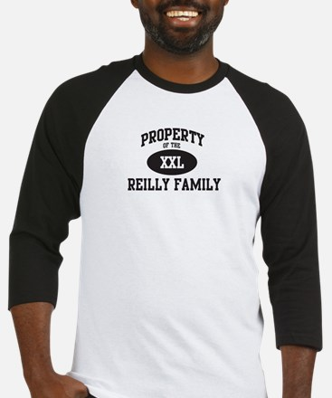 Property of Reilly Family Baseball Jersey