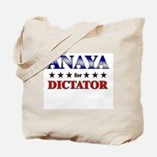 ANAYA for dictator Tote Bag