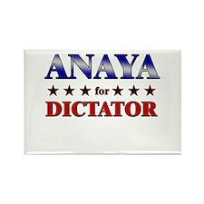 ANAYA for dictator Rectangle Magnet