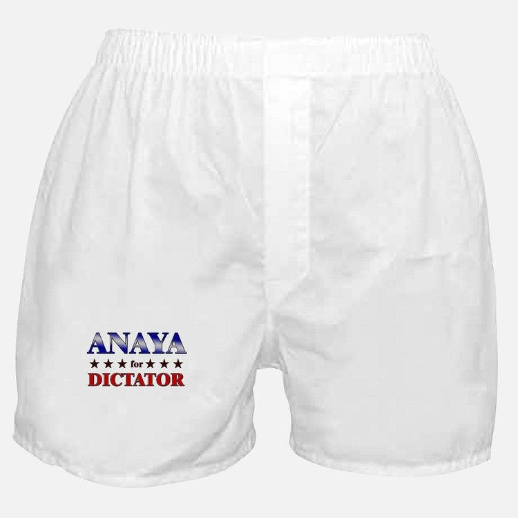 ANAYA for dictator Boxer Shorts