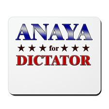 ANAYA for dictator Mousepad