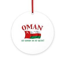 Omani Flag Keepsake Ornament
