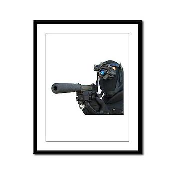 SOCOM Delta (LG) Framed Panel Print
