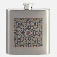 Moroccan Tile Flask