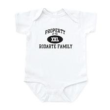 Property of Rodarte Family Infant Bodysuit