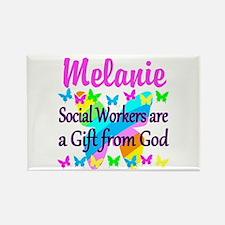 SOCIAL WORKER Rectangle Magnet (100 pack)