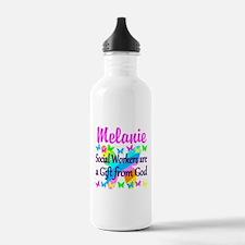 SOCIAL WORKER Water Bottle