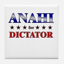 ANAHI for dictator Tile Coaster
