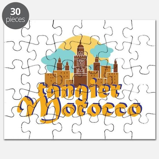 Tangier Morocco Puzzle