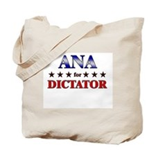 ANA for dictator Tote Bag