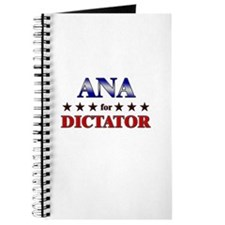 ANA for dictator Journal