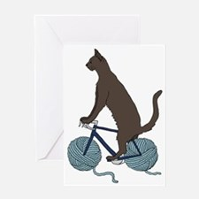 Cool Cat culture Greeting Card