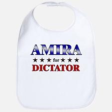 AMIRA for dictator Bib