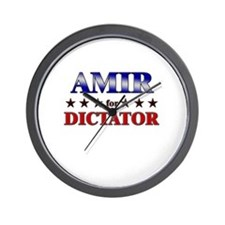 AMIR for dictator Wall Clock