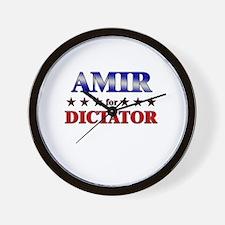 AMIR for dictator Wall Clock