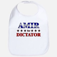 AMIR for dictator Bib