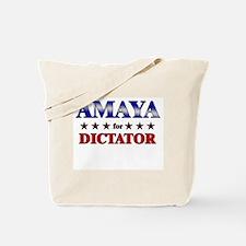 AMAYA for dictator Tote Bag