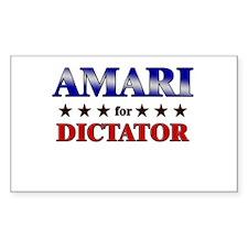 AMARI for dictator Rectangle Decal