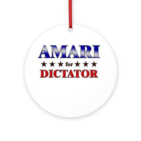 AMARI for dictator Ornament (Round)