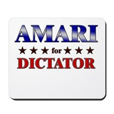 AMARI for dictator Mousepad