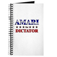 AMARI for dictator Journal