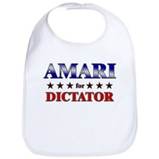AMARI for dictator Bib