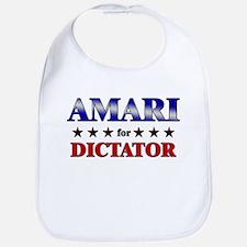 AMARI for dictator Bib
