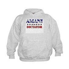 AMANI for dictator Hoodie