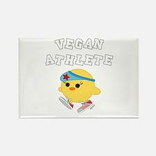 Vegan Athletes Rectangle Magnet